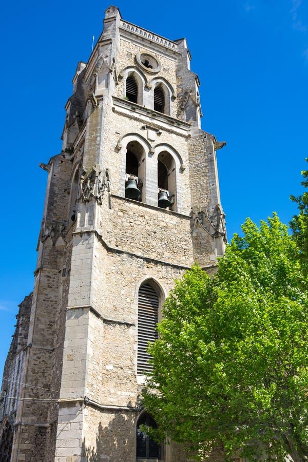 Saint Saturnin church stock images