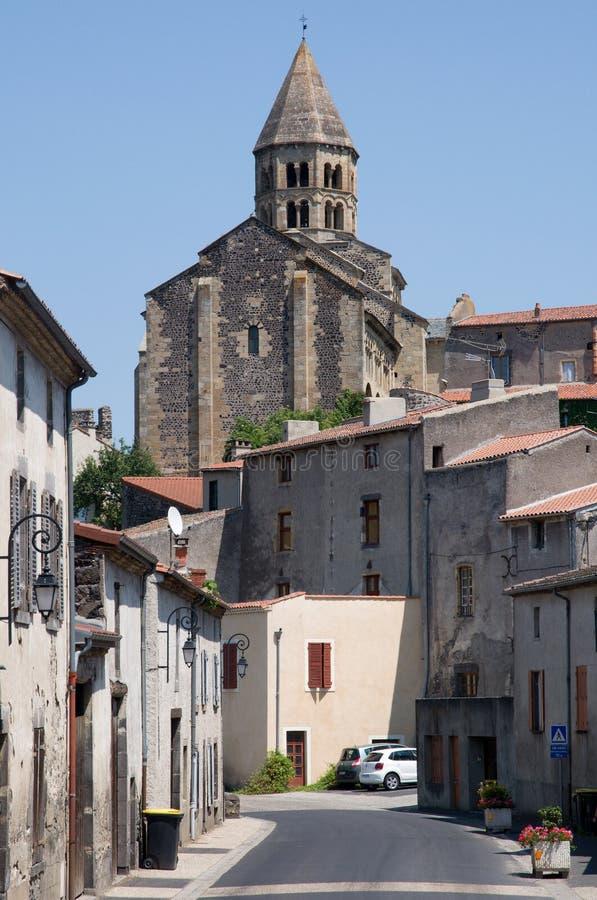 Saint Saturnin, França imagens de stock
