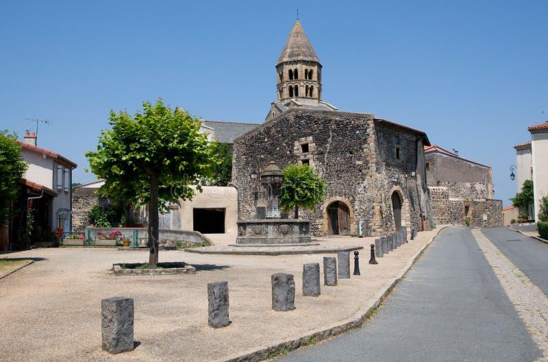 Saint Saturnin, França imagem de stock royalty free