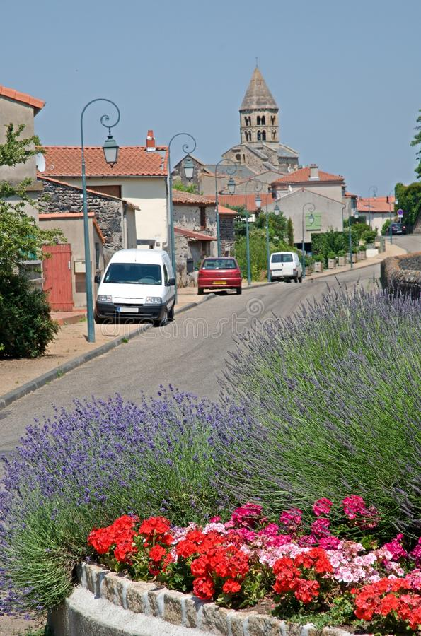 Saint Saturnin, France photos stock
