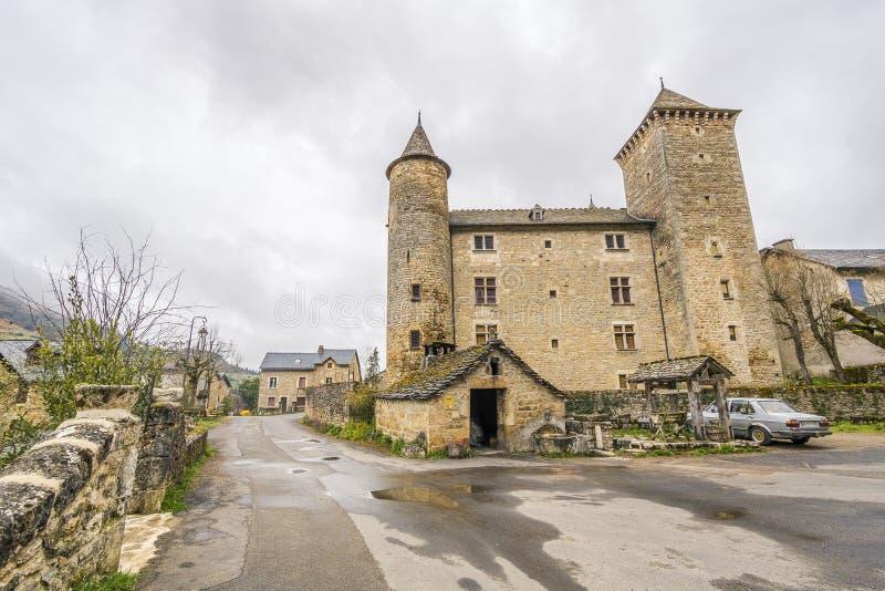 Saint Saturnin-sur Tartaronne, Frankreich stockfotografie
