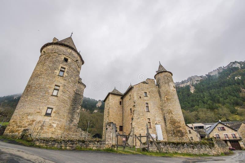 Saint Saturnin-sur Tartaronne, Frankreich lizenzfreie stockbilder