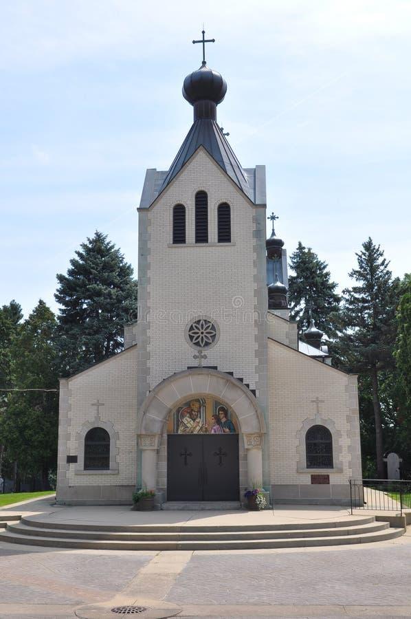 Saint Sava Serbian Orthodox Monastery fotografia de stock royalty free
