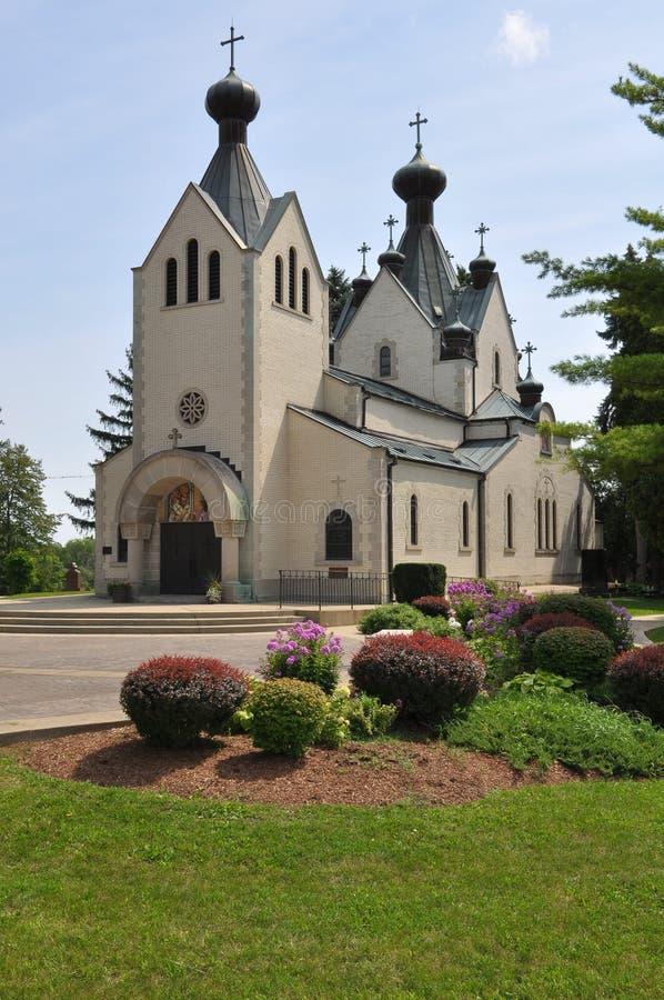 Saint Sava Serbian Orthodox Monastery foto de stock