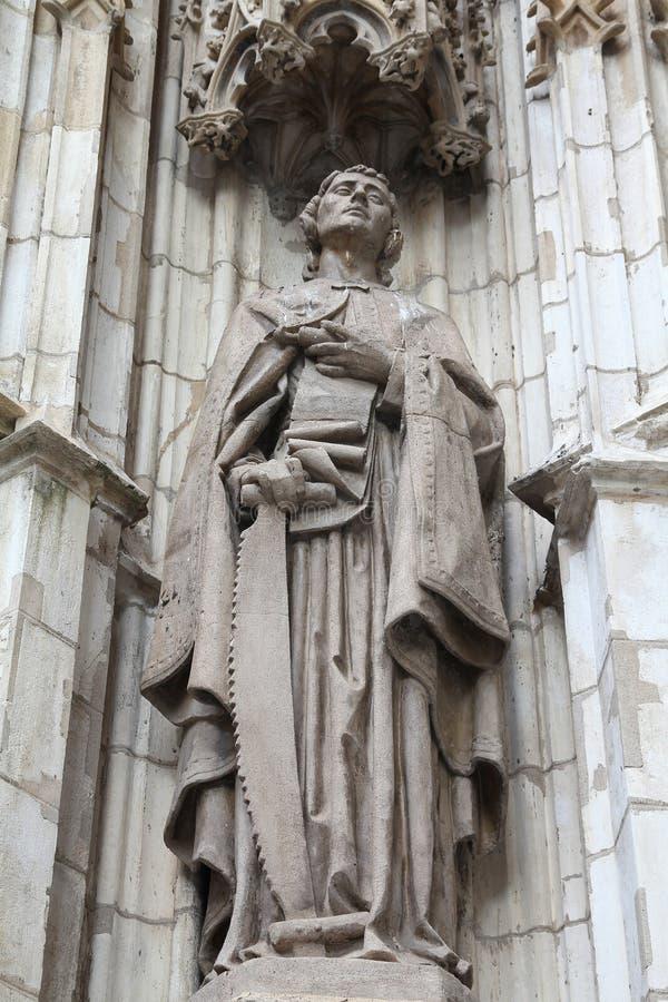 Download Saint Simon stock photo. Image of famous, artistic, architecture - 20501784