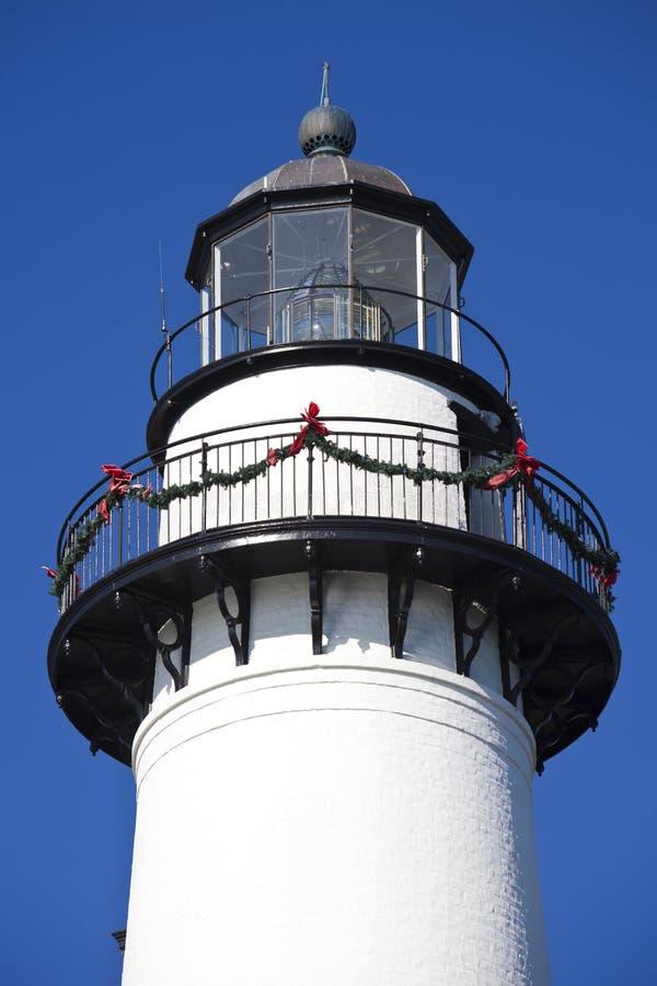 Saint Simons Lighthouse royalty free stock photo