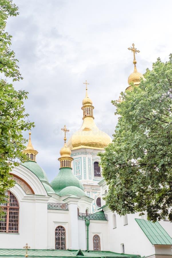Saint Sofia Cathedral, Kiev, Ukraine, summer day stock photography