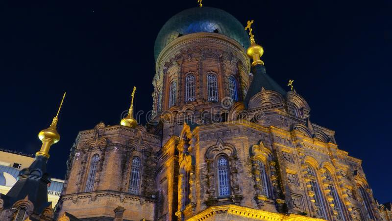 Saint Sofia church stock photography
