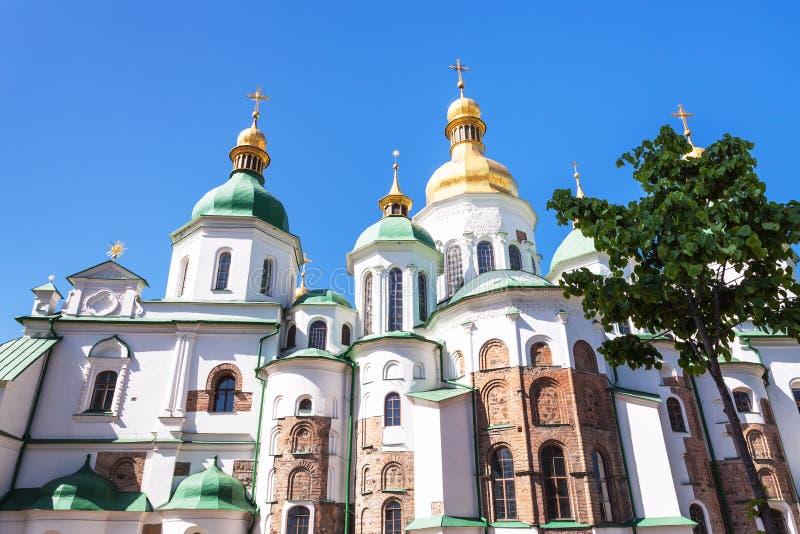 Saint Sophia Cathedral dans la ville de Kiev photo libre de droits