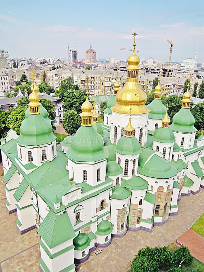 Saint Sophia Cathedral, Kyiv, Ukraine stock photography