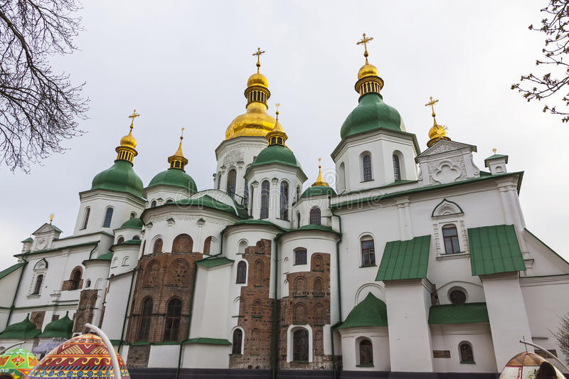 Saint Sophia Cathedral in Kyiv, Ukraine royalty free stock photography