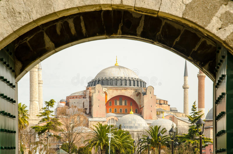 Saint Sophia em Constantinople foto de stock royalty free