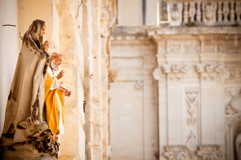Download Saint Statues In Lecce Stock Images - Image: 25573174