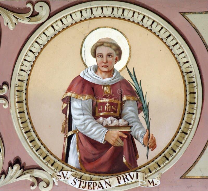 saint stephen image stock