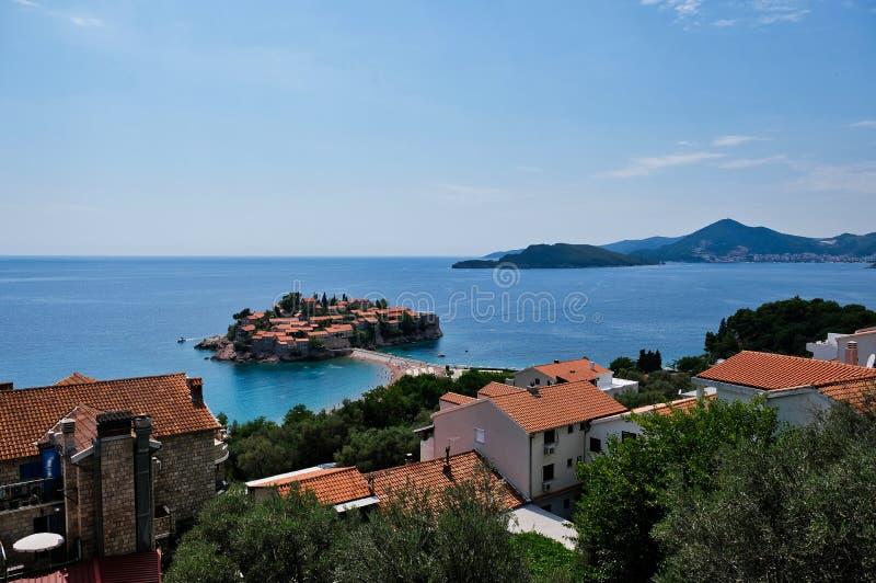 Saint Stephen Island Resort, Montenegro stock photography