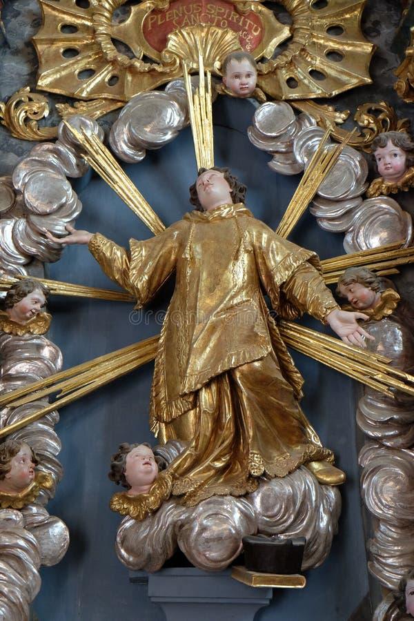 Saint Stephen Protomartyr stock photography