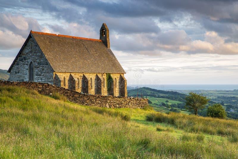 Saint Tecwyns Church royalty-vrije stock afbeelding