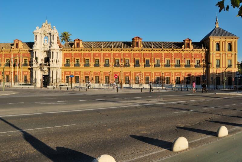 Saint Telmo Palace royalty free stock photos