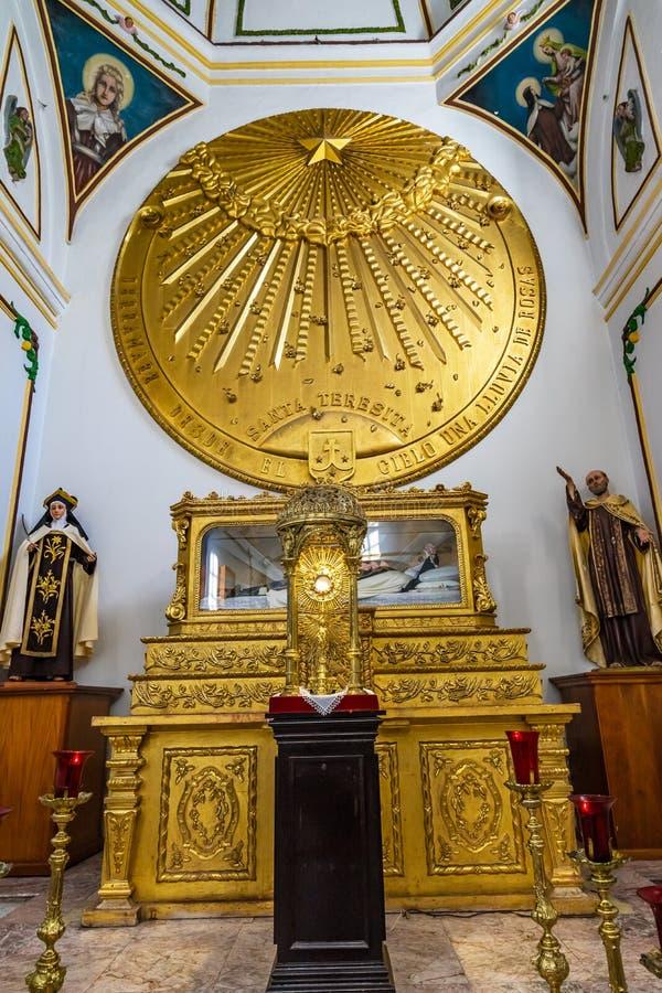 Saint Teresita Chapel Temple Convent Carmen Alto Church Oaxaca Mexico imagem de stock royalty free
