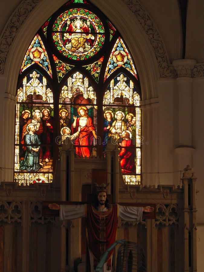 Saint Thomas Basilica 1 photographie stock libre de droits