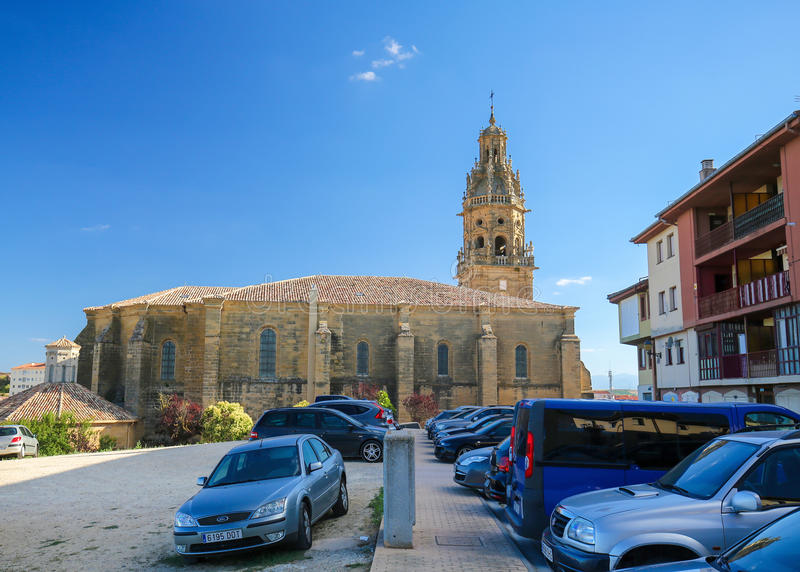 Saint Thomas Church no Haro, La Rioja, Espanha fotografia de stock royalty free