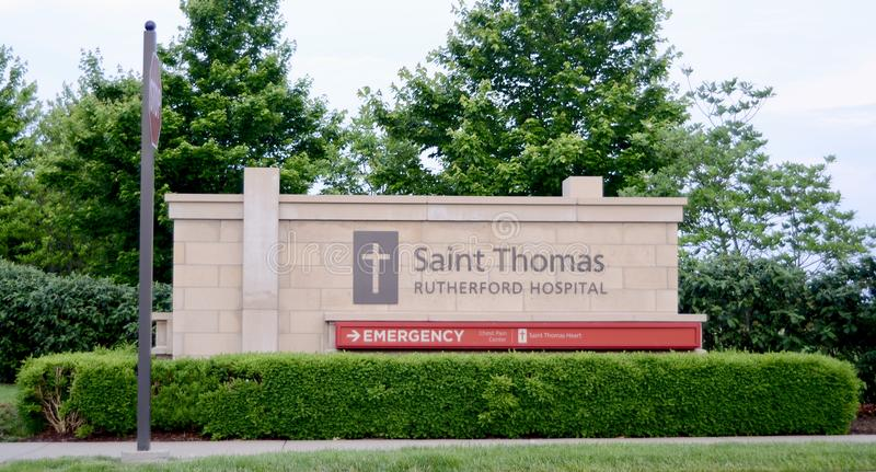 Saint Thomas Rutherford Hospital Emergency Entrance. In Murfreesboro, TN guided by our mission to provide a ministry of healing and wellness inspired by our stock photography