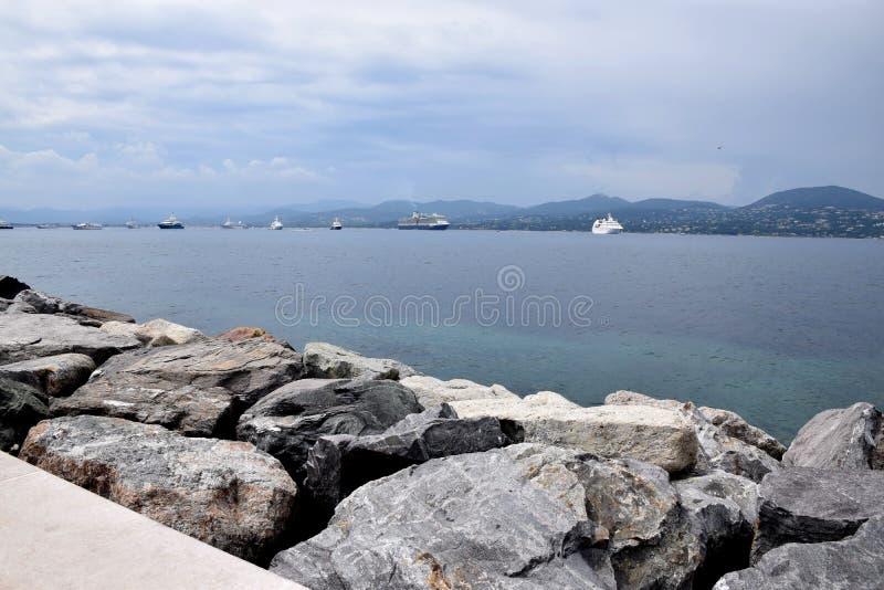 Saint Tropez stock foto's