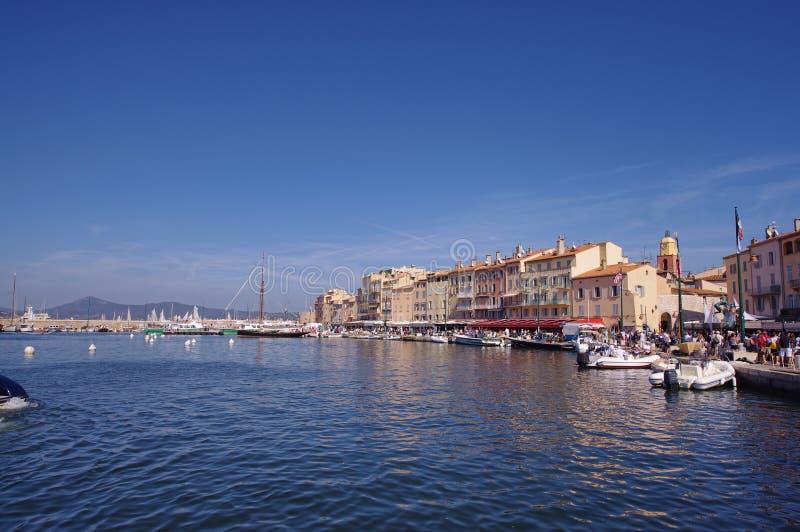 Saint Tropez city royalty free stock photos