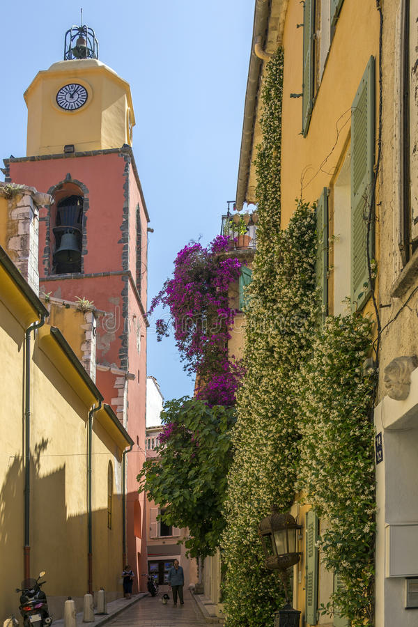 Saint Tropez - French Riviera - South of France royalty free stock image
