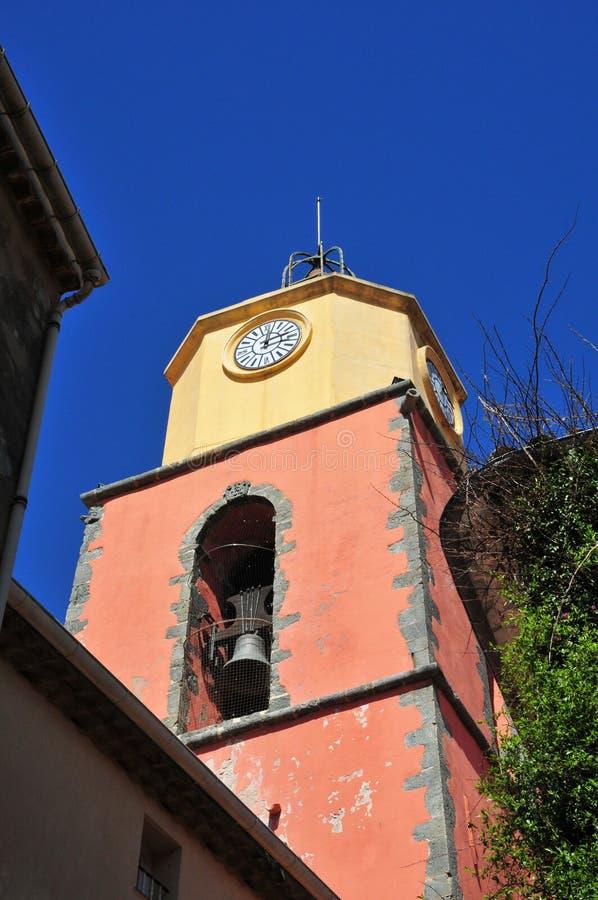 Saint Tropez; France - april 18 2016 : church royalty free stock photos