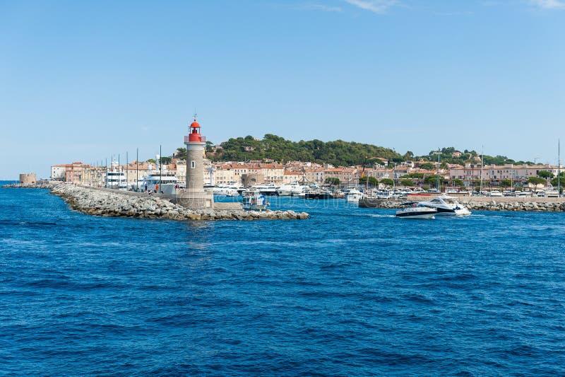 Saint Tropez harbor stock photos