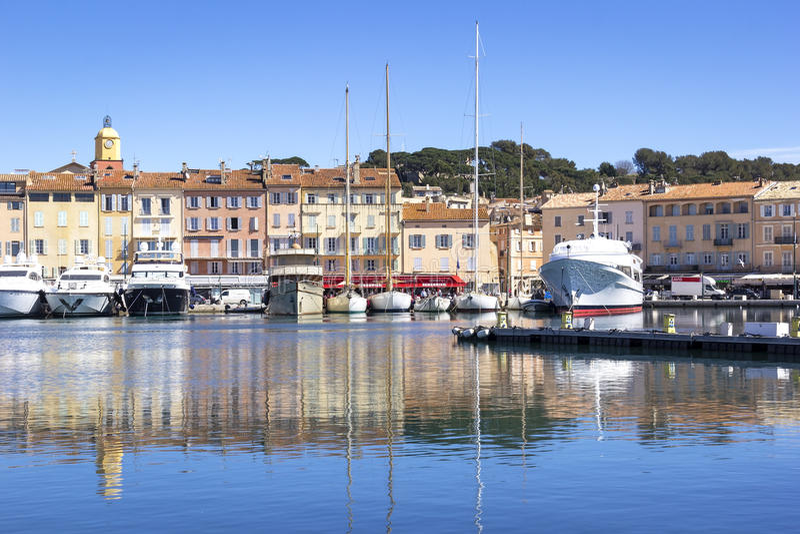 Saint-Tropez, Harbor royalty free stock photography