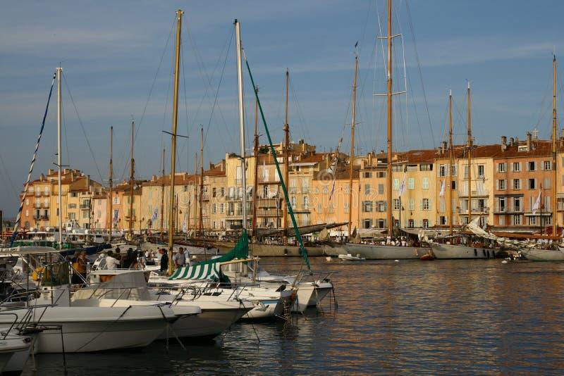Saint Tropez -haven stock fotografie