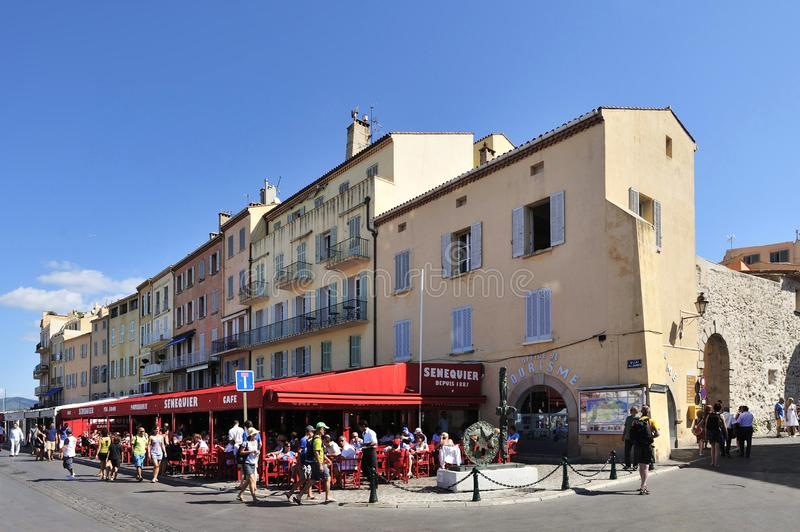 Saint Tropez, Kooi D Azur, Frankrijk royalty-vrije stock fotografie