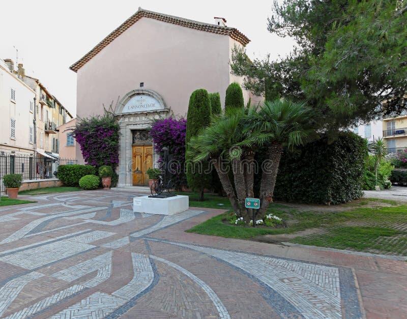 Saint Tropez museum stock image