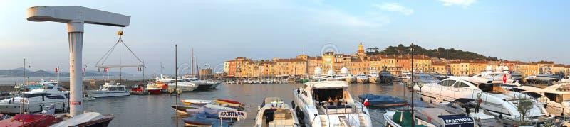 Saint Tropez port royalty free stock image