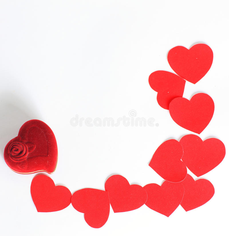 Saint-Valentin actuelle photo stock