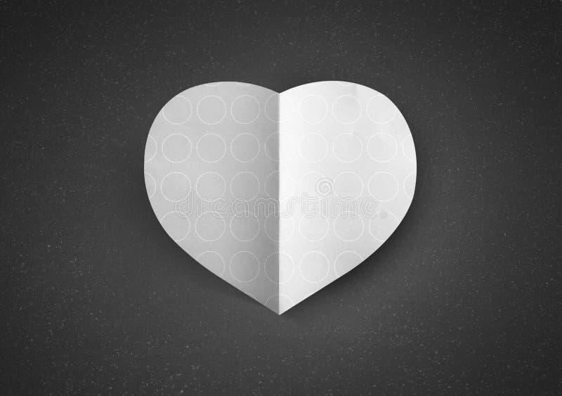 Saint Valentin d'amour de forme de coeur photo stock