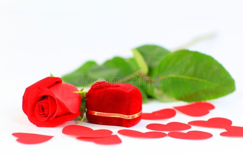 Saint-Valentin d'isolement photo libre de droits