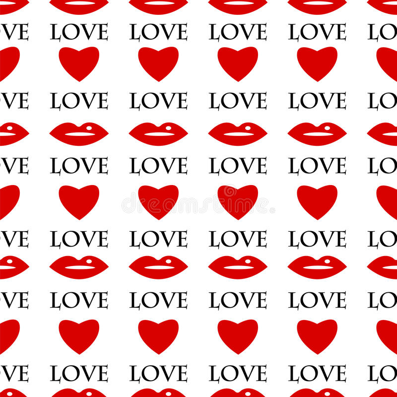 Saint-Valentin de fond illustration stock