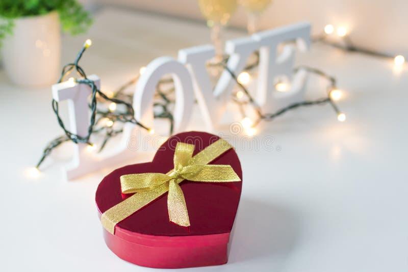 Saint-Valentin en forme de coeur image stock
