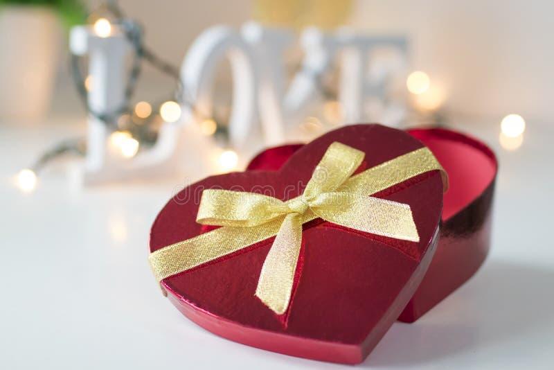 Saint-Valentin en forme de coeur images libres de droits