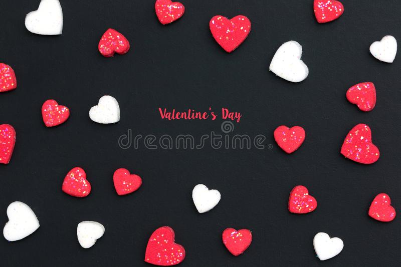 Saint-Valentin et concept de épouser image stock