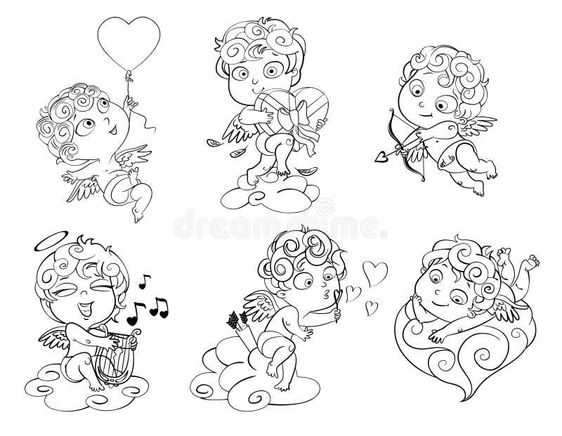 Saint-Valentin heureuse illustration stock
