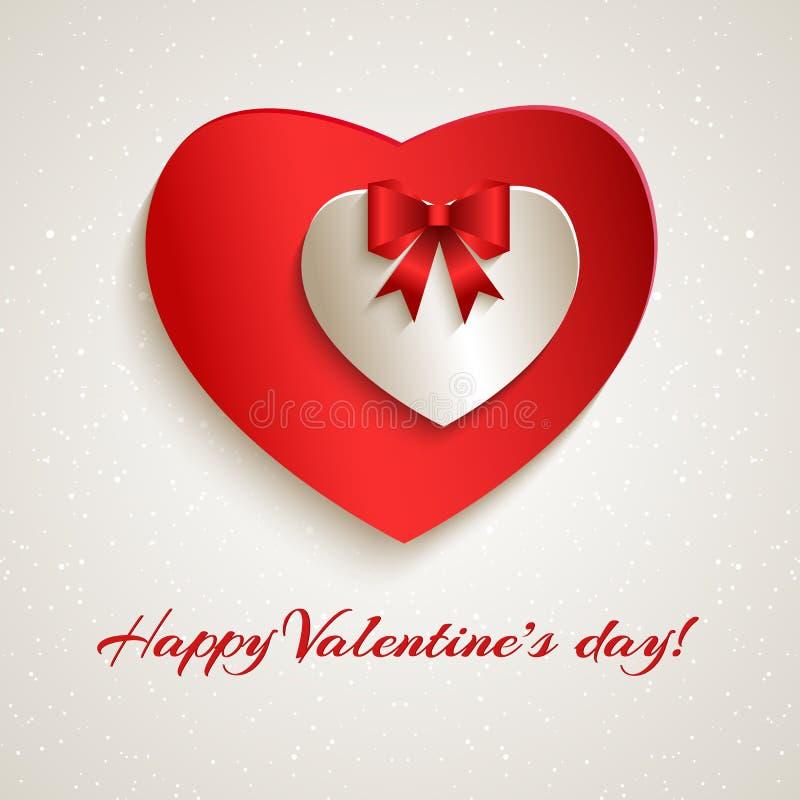 Saint-Valentin heureuse. illustration de vecteur