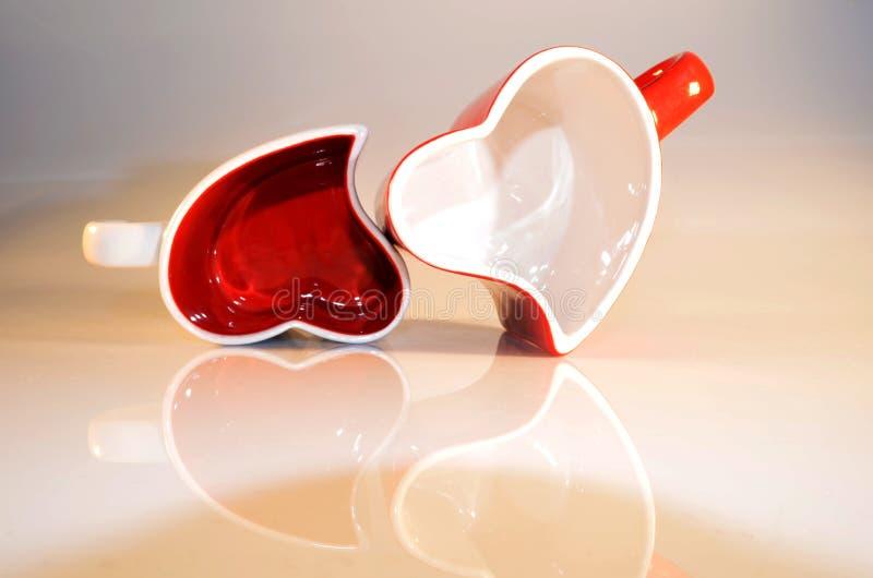 Saint-Valentin heureuse. Amour image libre de droits