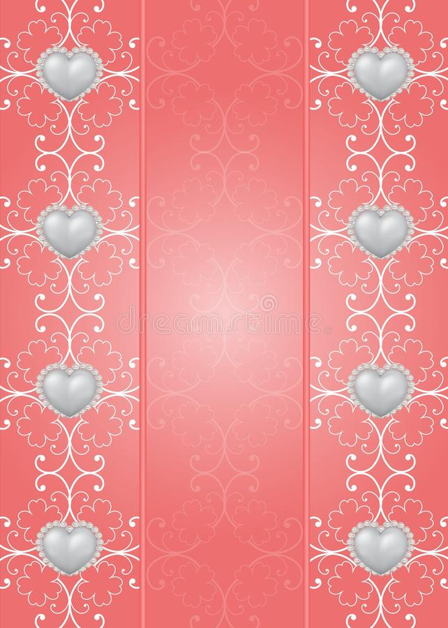 Download Saint Valentine's Day Greeting Card Stock Illustration - Image: 23004934