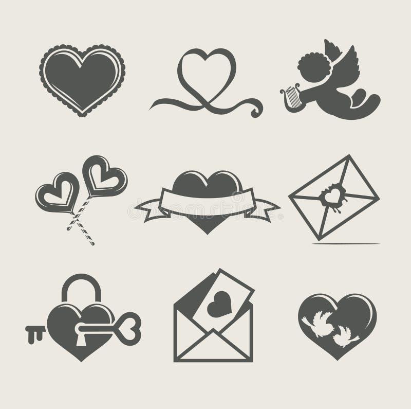 Download Saint Valentine's Day Set Icon Stock Vector - Image: 22926088