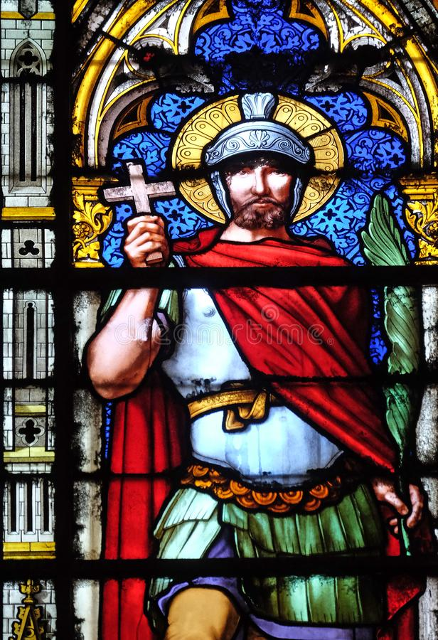 Saint Victor stockbild