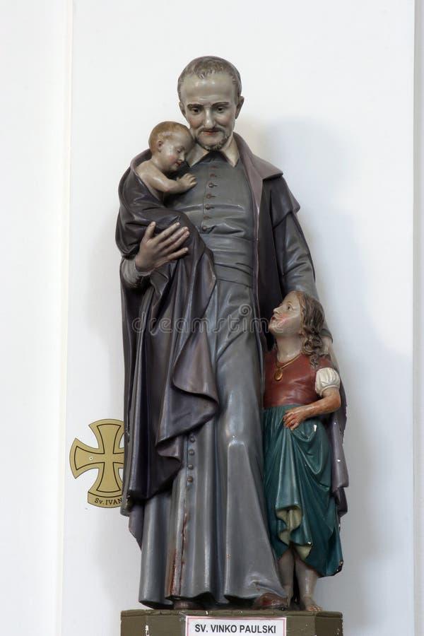 Saint Vincent de Paul fotografia de stock royalty free